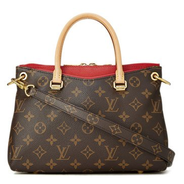 Louis Vuitton Red Monogram Pallas