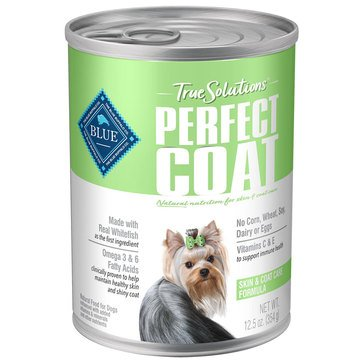 Blue Buffalo True Solutions Perfect Coat Skin and Coat Care Adult Wet Dog Food