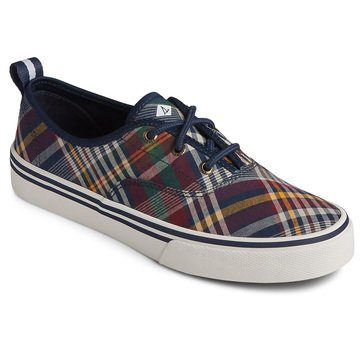 Sperry Men's Crest CVO Plaid Textile Sneaker