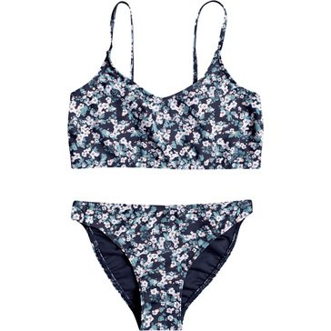 ROXY Girls' Your Magic Bralette Bikini Set