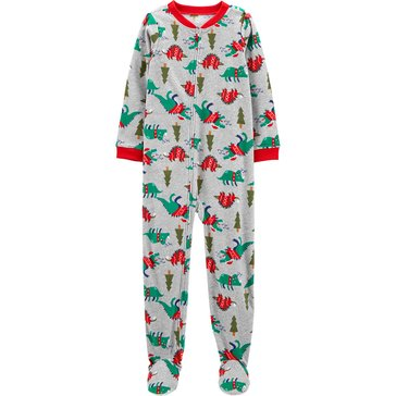 Carter's Little Boys' Dino 1-Piece Holiday Pajama