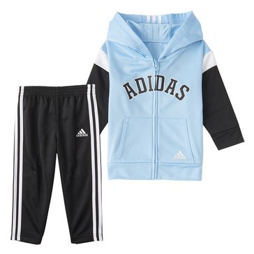 adidas Little Boys' Varsity Jacket Set