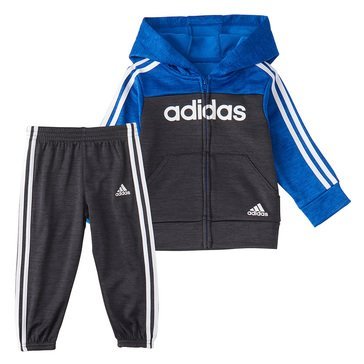adidas Little Boys' Block Fleece Set