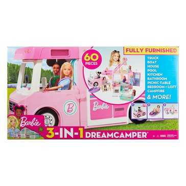 Barbie 3-in-1 Dream Camper