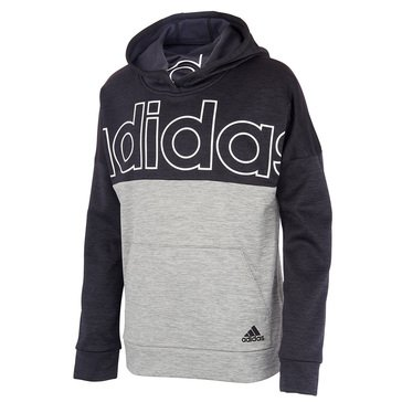 adidas Big Boys' Melange Hooded Pullover
