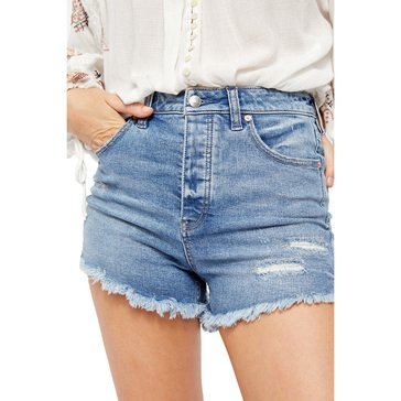 Free People Women's High Rise Shorts