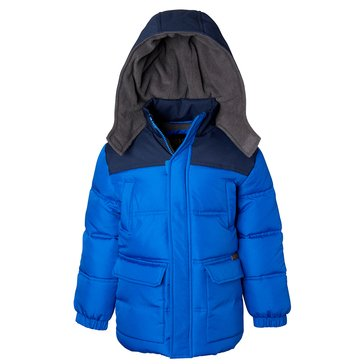 iXtreme Big Boys' Fabric Mixed Puffer