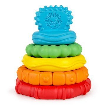 Baby Einstein Stack and Teethe Multi Textured Teether Toy