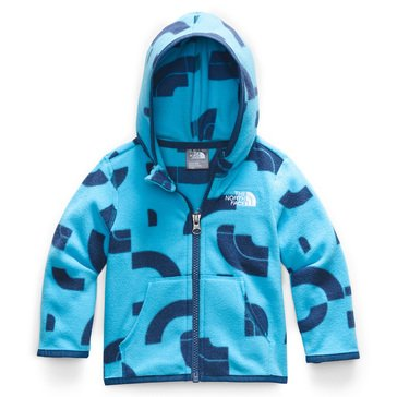 The North Face Baby Boy Logo Print Glacier Full Zip Hoodie