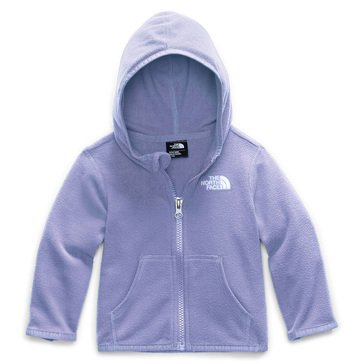 The North Face Baby Girl Glacier Full Zip Hoodie