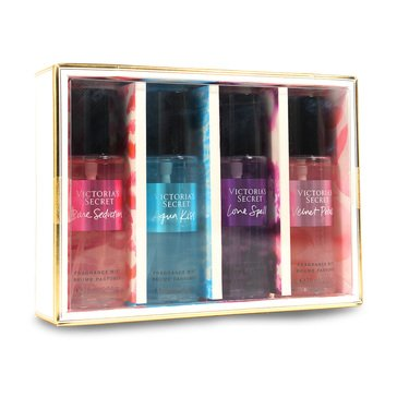 Victoria Secret Bath 4pc Assorted Mini Mist Coffret Gift Set