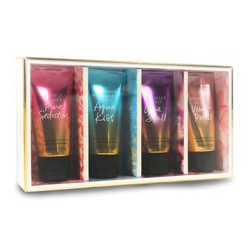 Victoria Secret Bath 4pc Assorted Mini Lotion Coffret Gift Set