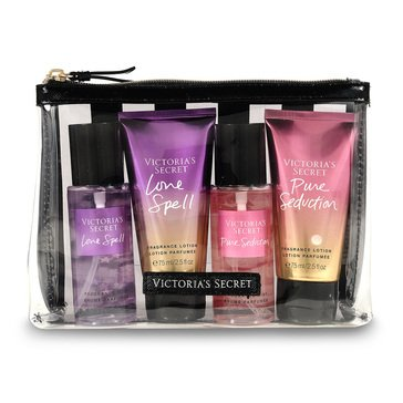 Victoria Secret Bath 4pc Mini Mist Lotion Coffret - Love Spell Pure Seduction Gift Set