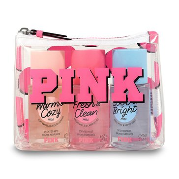 Victoria Secret PINK Assorted Mini Mist 3pc Coffret Gift Set