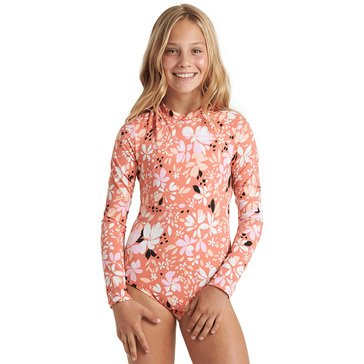 Billabong Little Girls' Petal Party Bodysuit