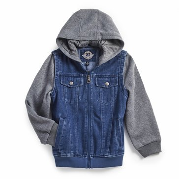 Urban Republic Little Boys' Denim Bomber Jacket
