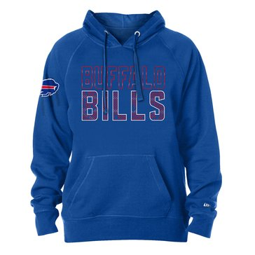 New Era Men's NFL Bills Brushed Fleece Tri-Blend Hoodie