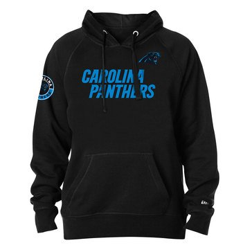 New Era Men's NFL Panthers Brushed Fleece Hoodie