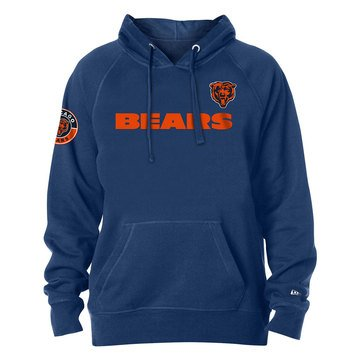 New Era Men's NFL Bears Brushed Fleece Hoodie
