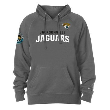 New Era Men's NFL Jaguars Brushed Fleece Pullover Hoodie