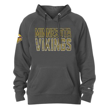 New Era Men's NFL Vikings Brushed Fleece Pullover Hoodie