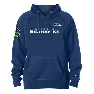 New Era Men's NFL Seahawks Brushed Fleece Hoodie