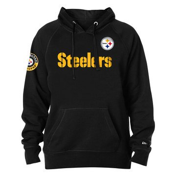New Era Men's NFL Steelers Brushed Fleece Hoodie