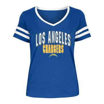 New Era Women's NFL Chargers Baby Jersey Tee