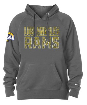 New Era Men's NFL Rams Brushed Fleece Hoodie