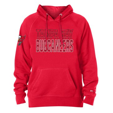 New Era Men's NFL Buccaneers Brushed Fleece Hoodie