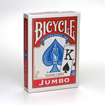 Bicycle Playing Cards - Jumbo Index Poker