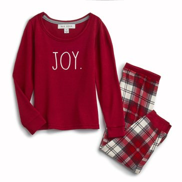 Rae Dunn Toddler Hacci Joy Holiday Family Pajamas