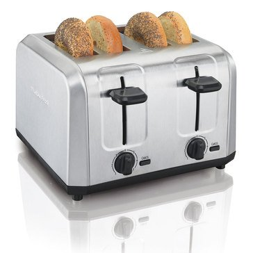 Hamilton Beach 4-Slice stainless steel toaster