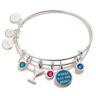 Alex and Ani Gossip Girl Where Has She Been Multi Charm Bracelet
