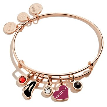 Alex and Ani Gossip Girl Spotted Multi Charm Bracelet