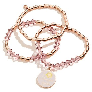 Alex and Ani Gilmore Girls, Stretch Bracelet Set of 3