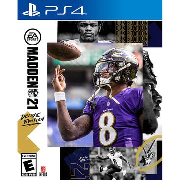 PS4 Madden NFL 21 Deluxe Edition