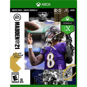 Xbox One Madden NFL 21 Deluxe Edition