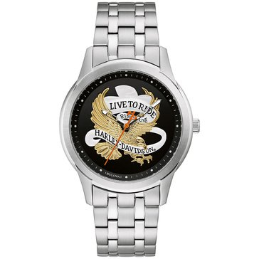 Harley Davidson Men's Live to Ride Watch