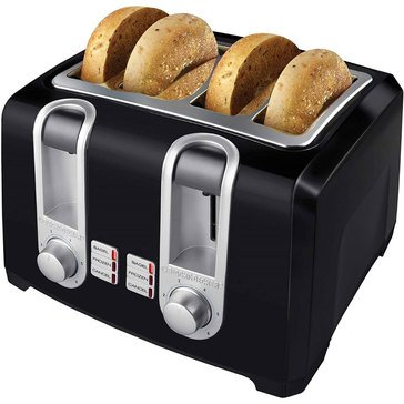 Black & Decker Extra Wide 4-Slice Toaster