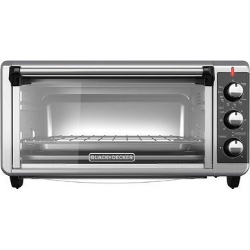 Black & Decker 8-Slice Extra Wide Convection Toaster Oven