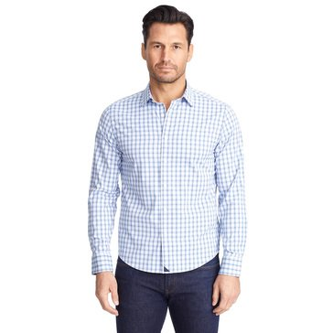 UNTUCKit Men's Performance Oliver Hill Long Sleeve Sportshirt
