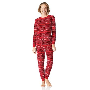 Yarn & Sea Women's Velour PJs 2-Piece Gift Set