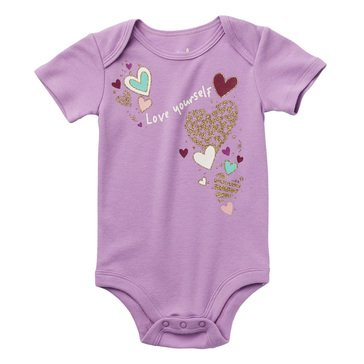 Wanderling Baby Girl Short Sleeve Bodysuit