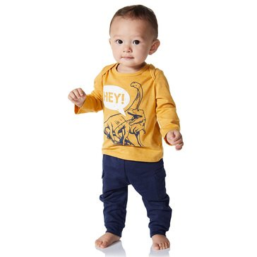 Wanderling Baby Boy Long Sleeve Crew Tee