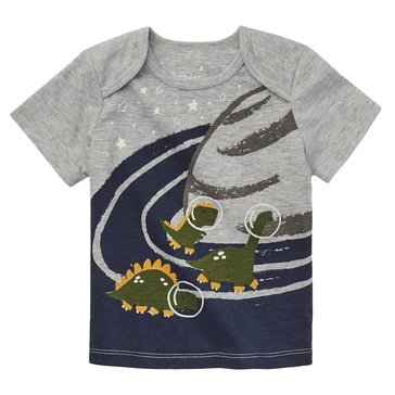 Wanderling Baby Boy Short Sleeve Crew Neck Tee