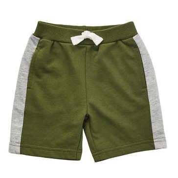 Wanderling Baby Boy French Terry Short With Side Stripe