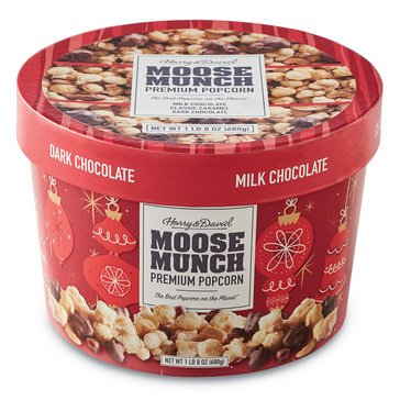 Harry & David Holiday Moose Munch 24oz Drum Classic