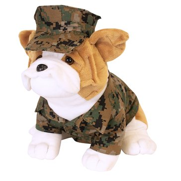 Vanguard 9 Mini Chesty Bulldog Woodland Marpat w/ Cover Plush