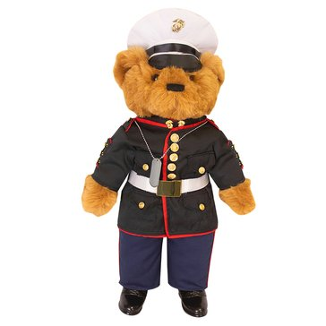 Vanguard 20 Marine Dress Blues Bear